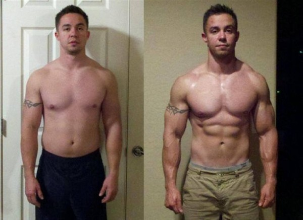 12 week steroid cycle before and after